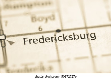 Fredericksburg. Iowa. USA.
