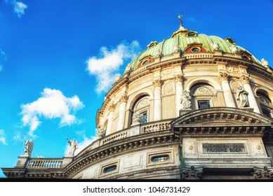 Frederik's Church popularly known as The Marble Church for its architecture, is an Evangelical Lutheran church in Copenhagen, Denmark.