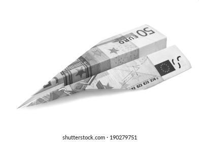 A free interpretation of the ephemeral nature of money