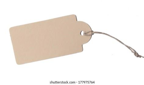 free Label cardboard paper cord