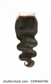 free part body wave human hair lace closure - Image