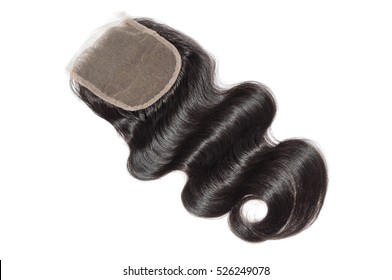 free part body wave  human hair lace closure