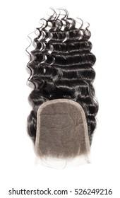 free part deep curly human hair lace closure