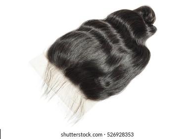 Free part loose wave human hair lace closure