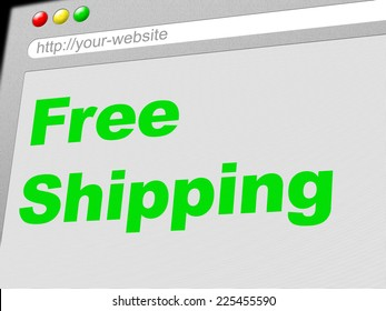 Free Shipping Meaning With Our Compliments And Freebie