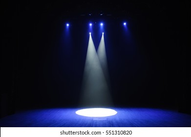 Free Stage With Lights Lighting Devices