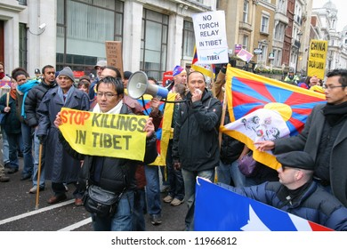Free Tibet protests London