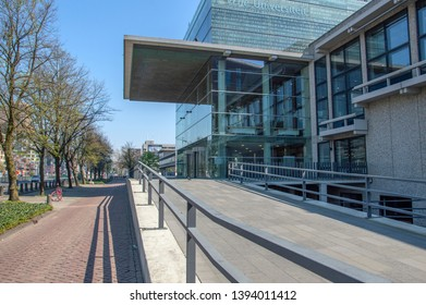 Free University Main Campus Building At Amsterdam The Netherlands 2019