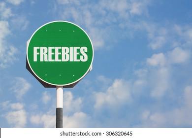 Freebies Sign