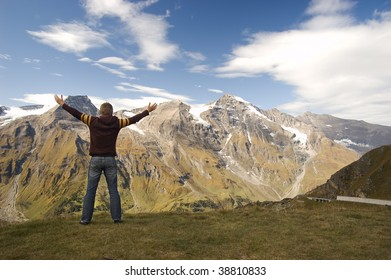 Freedom in mountains / Austrian Alps