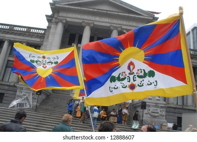 Freedom for Tibet Rally