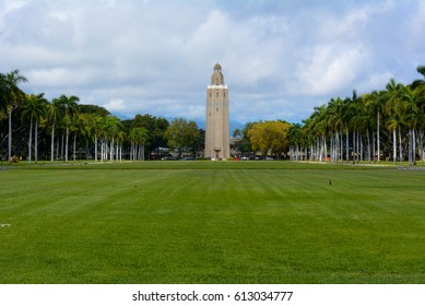 Freedom Tower in Joint Base Pearl Harbor-Hickam, Oahu, Hawaii