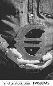 freelance in Europe (money concept)