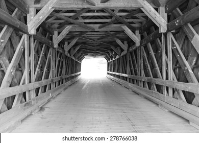 Freeport Covered Bridge in Cowansville, Quebec