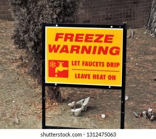 Freese Warning Sign