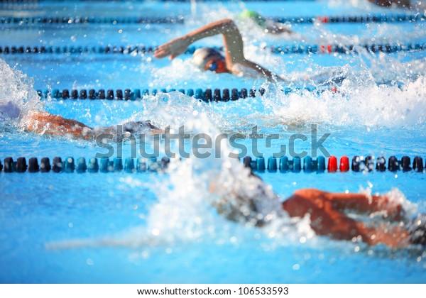 Freestyle-Rennen
