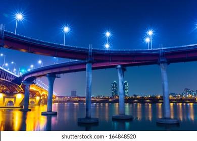 Freeway in Seoul