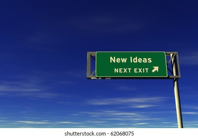 Freeway sign, next exit... New Ideas