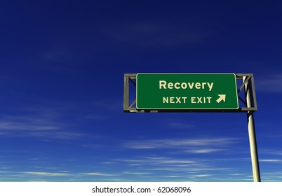 Freeway sign, next exit... Recovery!
