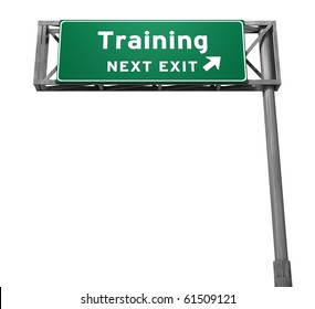 Freeway Sign - Training!