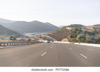 The  freeway of Southern California.