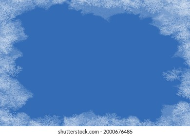 freeze ice paper for background - Shutterstock ID 2000676485