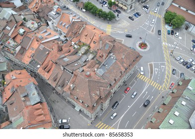 Freiburg bird eye view