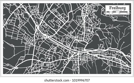 freiburg Map Stock Images RoyaltyFree Images Vectors Shutterstock