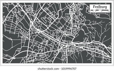 Freiburg Map Images Stock Photos Vectors Shutterstock