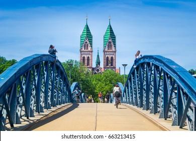 Freiburg Wiwilli Bridge, Germany