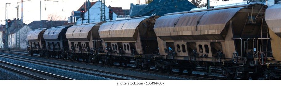 freight train cargo cars