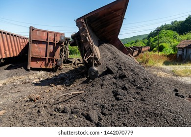 Freight train derailment, no injuries and no hazardous materials leaked from the train. Mechanical problems and track conditions are to blame for a train derailment. Abstract: Transportation Safety