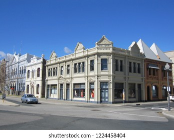 Fremantle, Western Australia - August 2010: Phillimore Chambers Building, Tenants included shipping companies. Designed by Wilkinson, Smith and Wilson, architects, 1899.