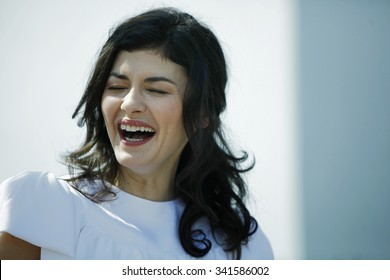 French actress Audrey Tautou poses during the photocall of 'Therese Desqueyroux' presented out of competition at the 65th Cannes film festival on May 27, 2012 in Cannes.
