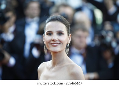 French actress Virginie Ledoyen attends opening ceremony and 'Moonrise Kingdom' premiere during the 65th Annual Cannes Film Festival at Palais des Festivals on May 16, 2012 in Cannes, France.