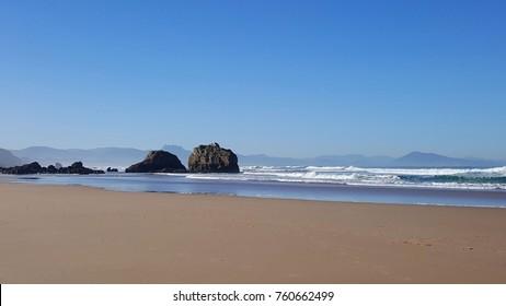 French beach coast