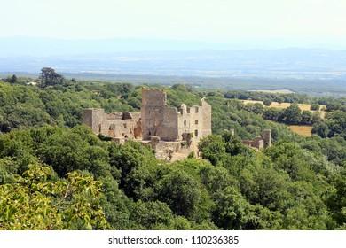 French castles, Chateau de Saissac