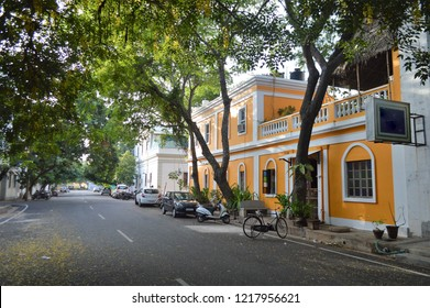 French colony architecture, Pondicherry, India