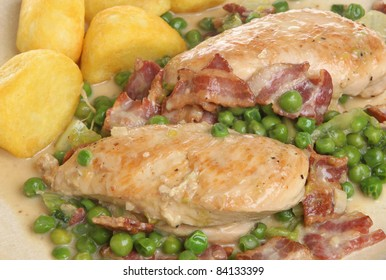 French Country Chicken with Bacon