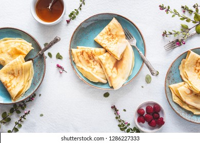 French Crepe for Chandeleur