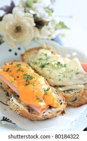 French cuisine, croque-monsieur