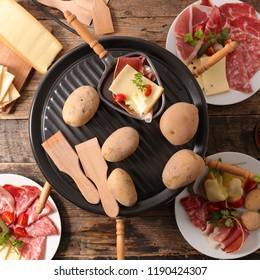 french dinner, raclette
