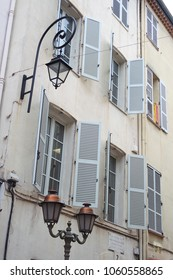 French facade archutecture