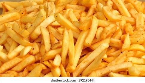 A lot of french fries.