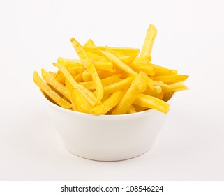 French fries in the bowl