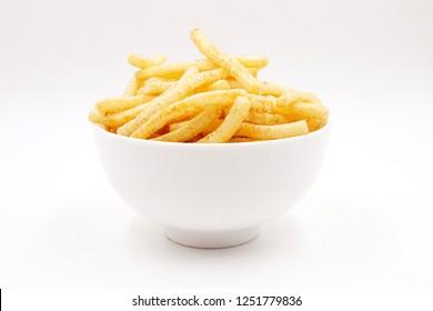 French fries crisp