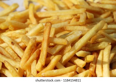 French fries is delicious at street food
