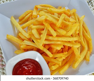 French Fries & Ketchup.