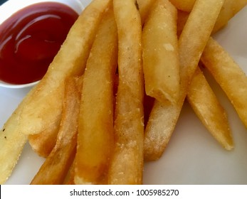 French fries with sauce.