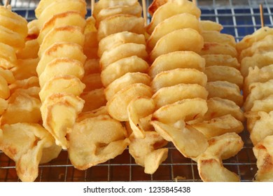 French fries at street food